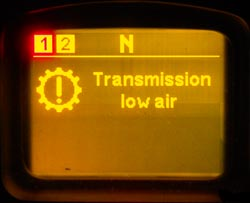 Transmission low air